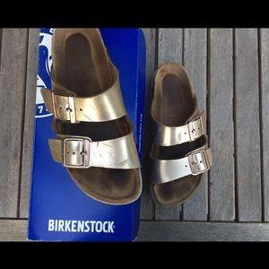 Birkenstock Arizona Copper size 38